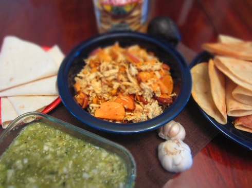 Yucatecan Chicken and Sweet Potato Tacos