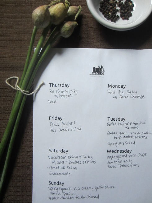 The Farm Table Meal Planning